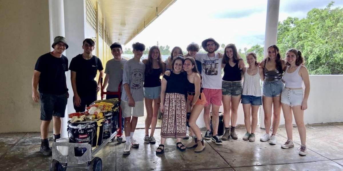 Organización judía visita Loíza para contribuir a la reconstrucción