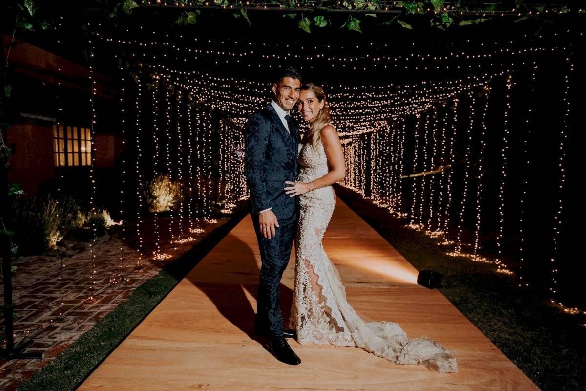 Suárez y su esposa