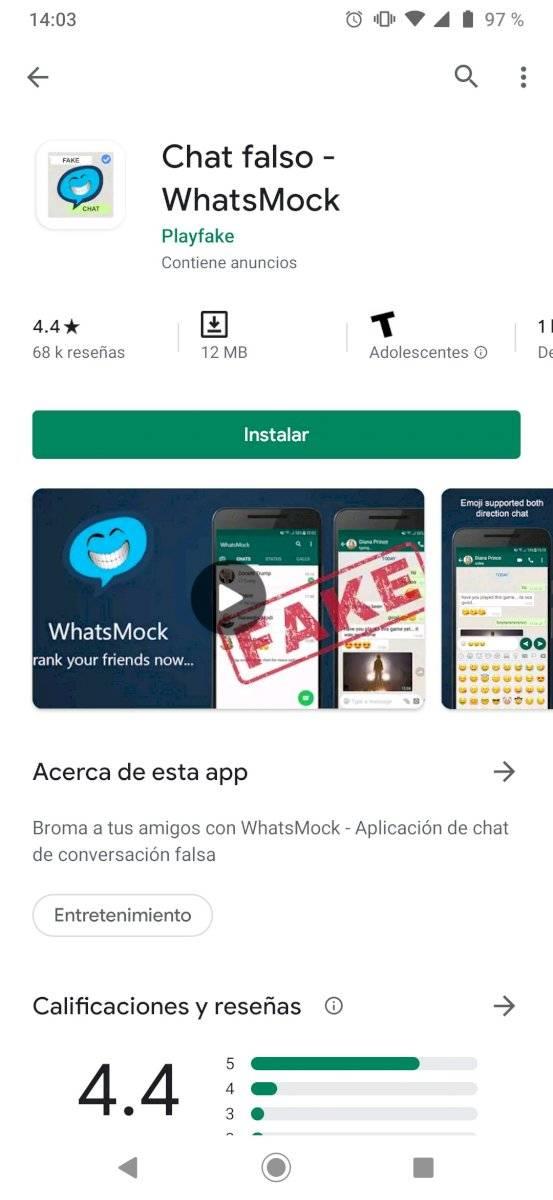 WhatsApp bromas