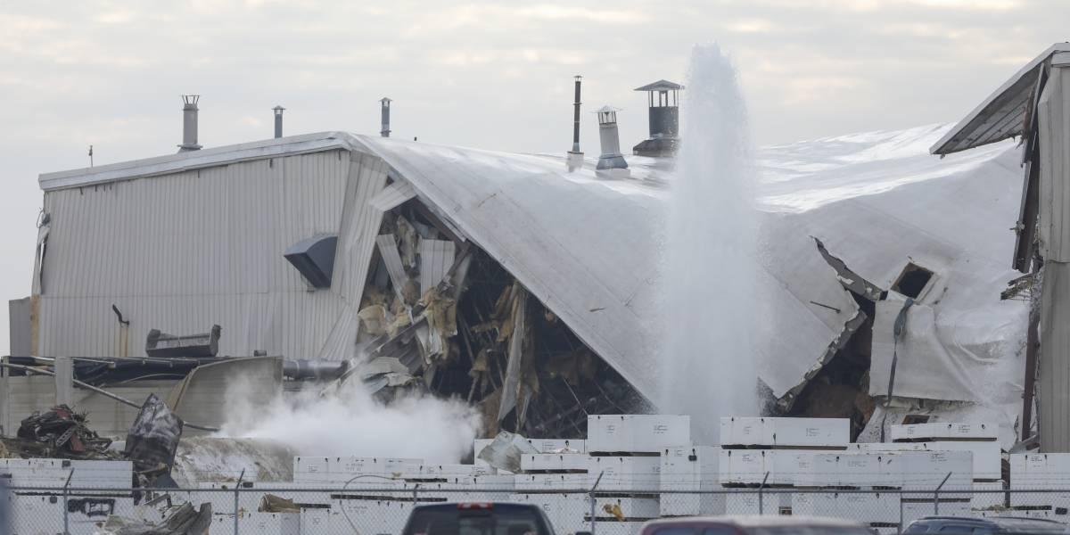 Varios heridos por explosión de fábrica en Kansas