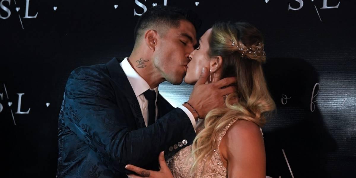 FOTOS. Los invitados de lujo que asistieron a la renovación de votos matrimoniales de Luis Suárez