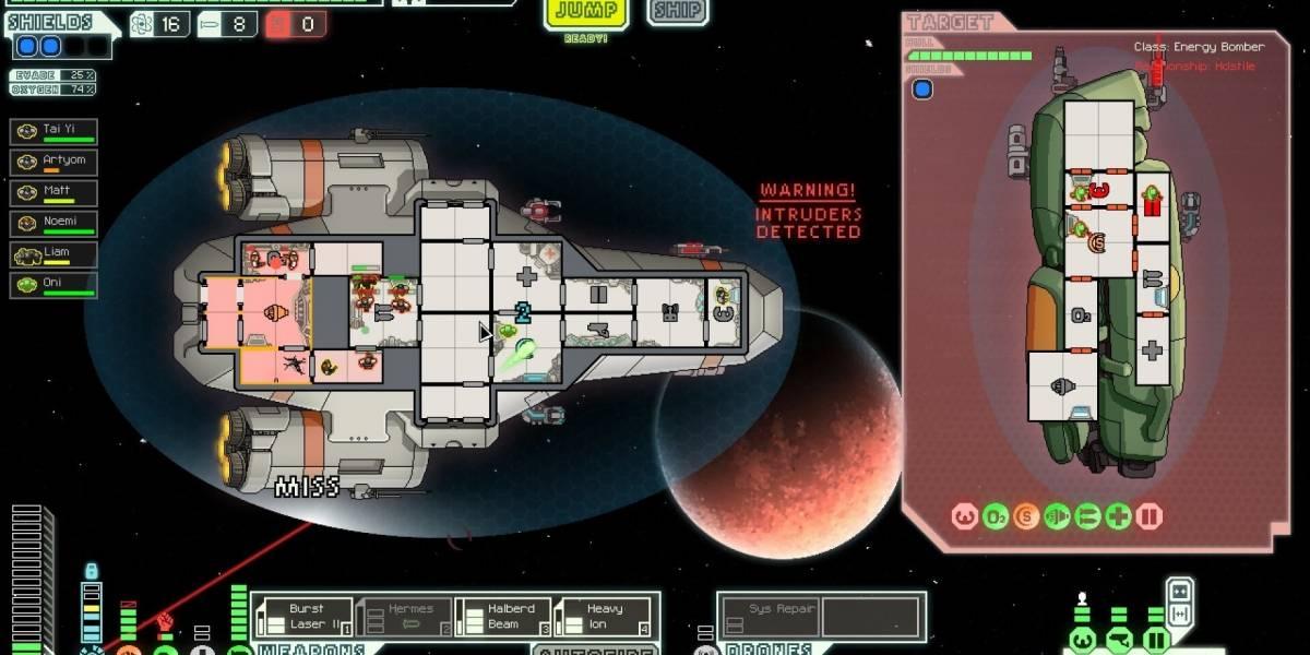Faster Than Light está disponível gratuitamente na Epic Games Store