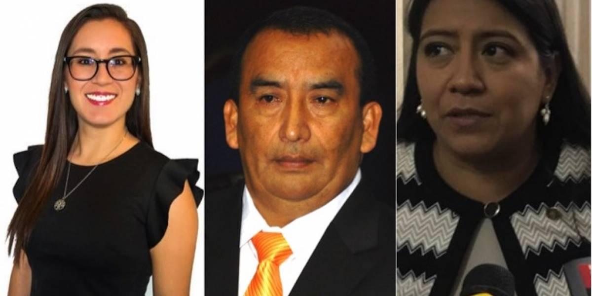 ¿Qué tienen en común los diputados Karina Paz, Felipe Cal Lem y Lesly Valenzuela?