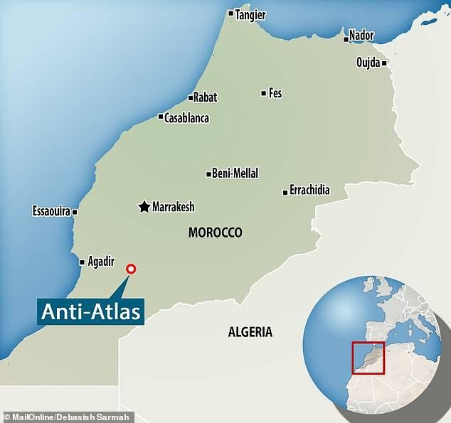 """La Nasa publica increíble imagen de las """"montañas anti-atlas"""" de Marruecos"""