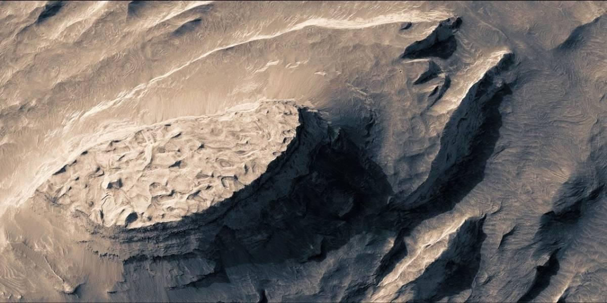 No te pierdas este increíble video tridimensional de Marte