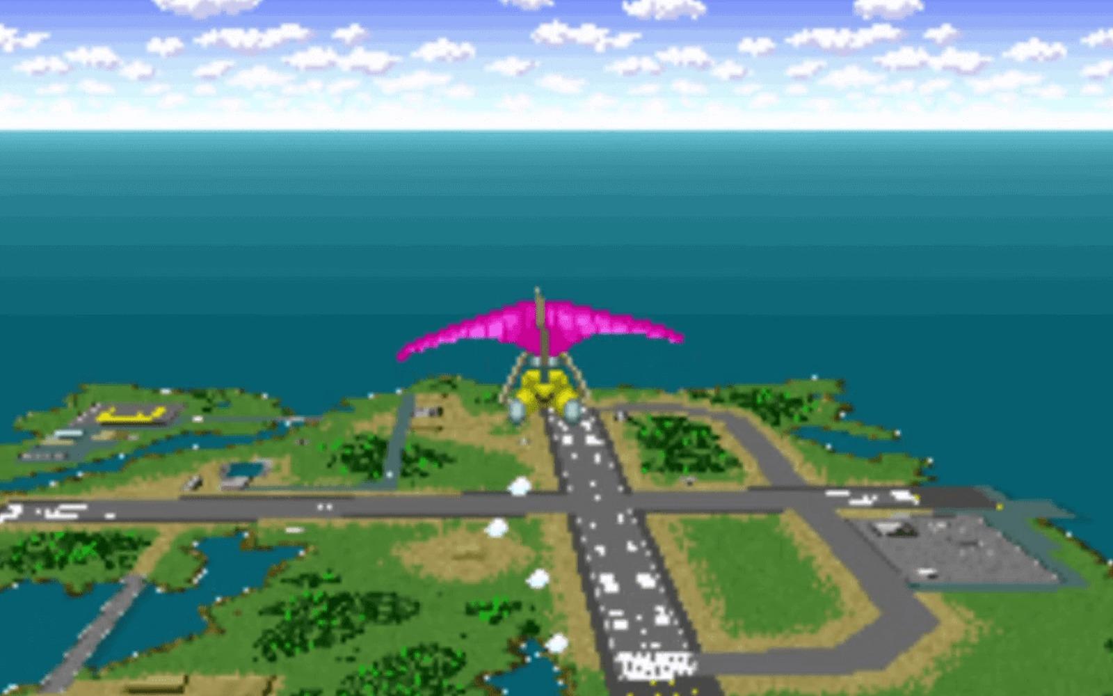 pilotwings mundo bizarro