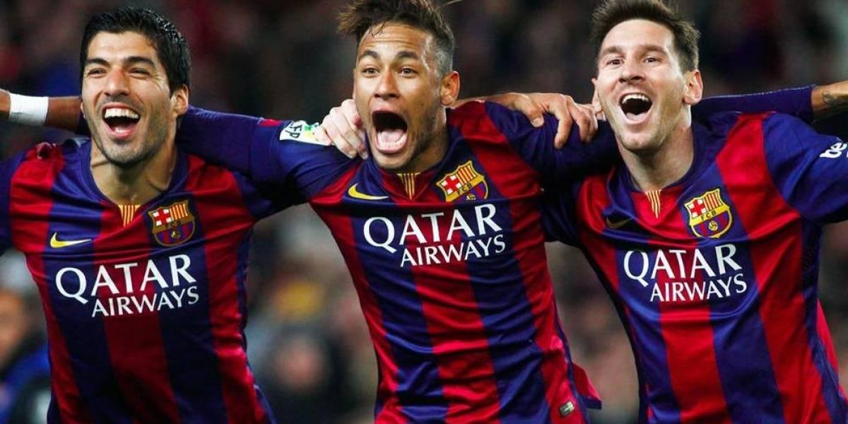 El tridente más famoso del Barcelona se vuelve a unir