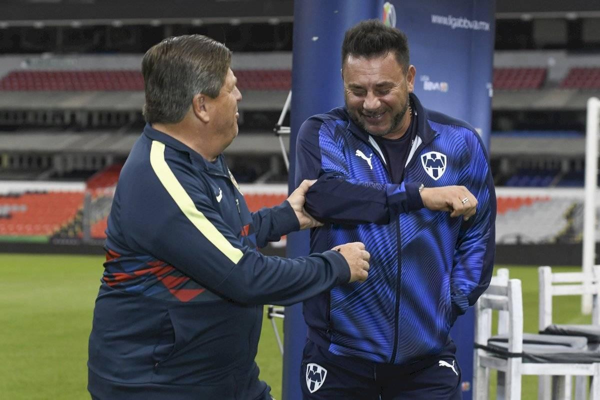 Miguel Herrera y Antonio Mohamed