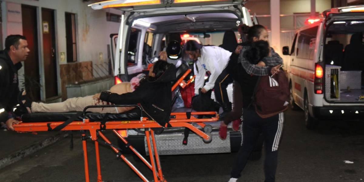 Ataque armado en interior de bus de ruta 23 deja cinco heridos