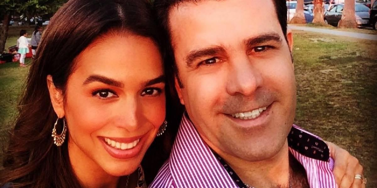 Con un apasionado beso Biby Gaytán y Eduardo Capetillo despejan dudas sobre divorcio