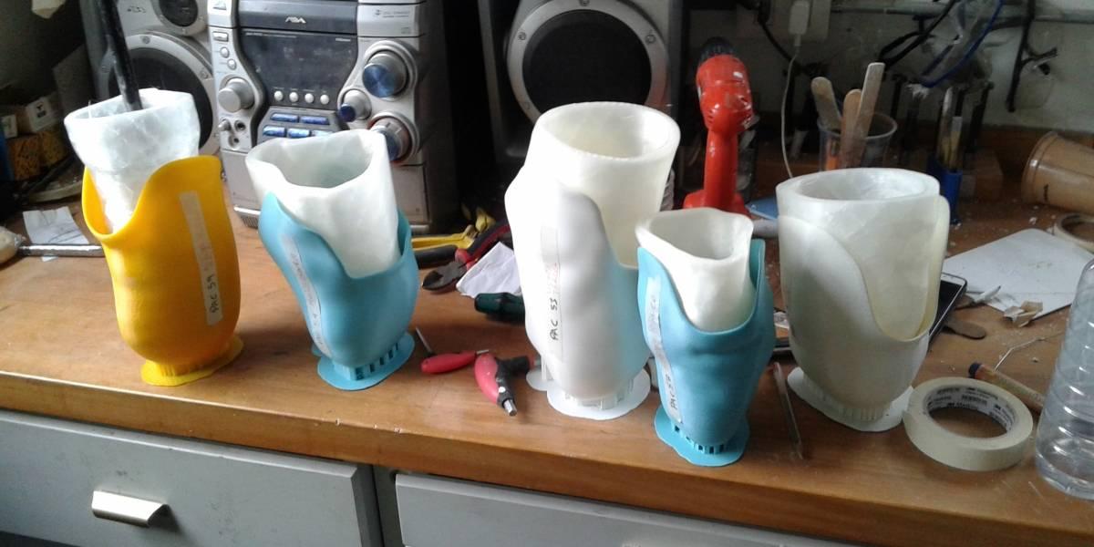 Este emprendimiento busca facilitar la creación de la parte fundamental de toda prótesis