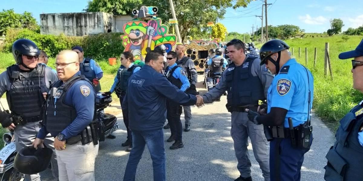 Henry Escalera visita el municipio de Hatillo tras balacera durante Festival de Máscaras