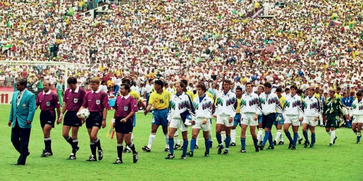 Ex futbolistas de Brasil e Italia recrearán final del Mundial de 1994