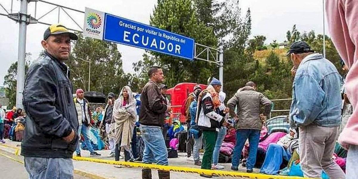 Ecuador entrega cerca de 11.000 visados por razón humanitaria a venezolanos