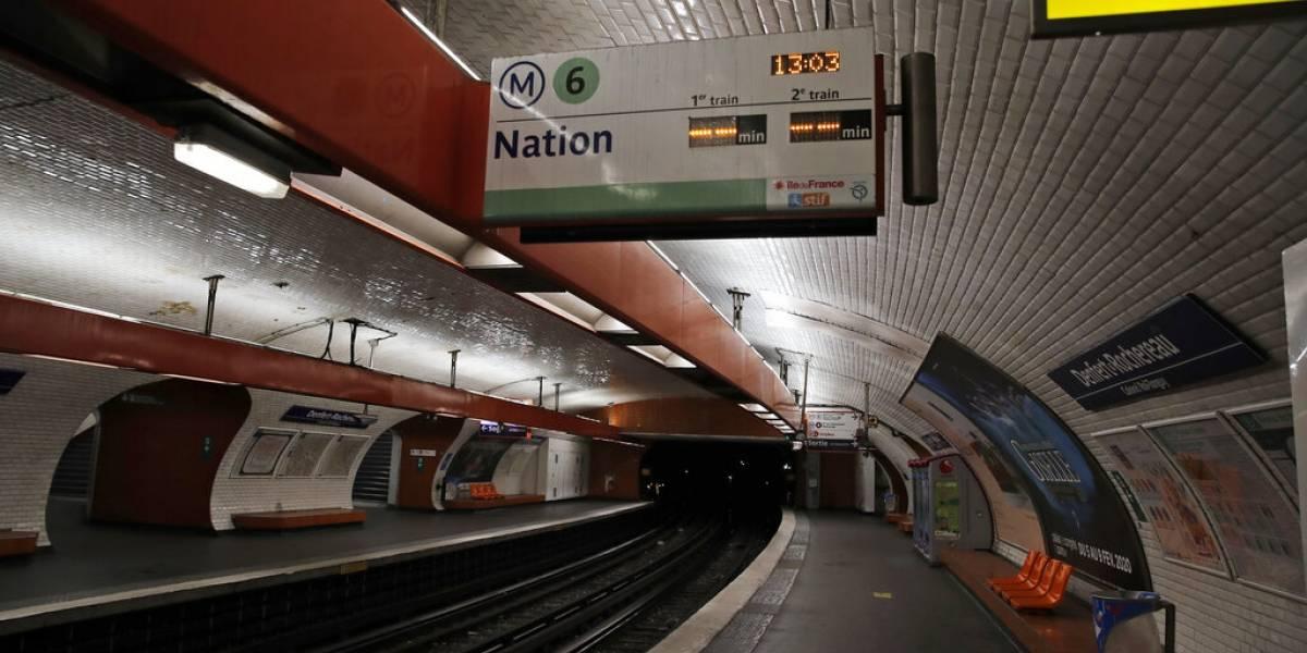 Huelga de transportes en Francia cumple 25 días