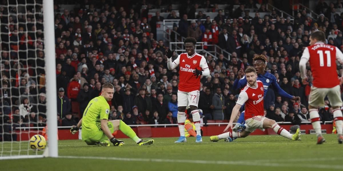Chelsea derrota a Arsenal en amargo debut en casa de Arteta
