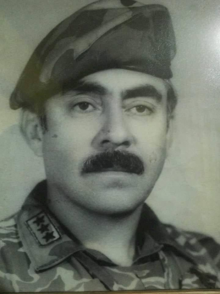 Retrato del coronel Byron Lima Estrada, condenado por el caso Gerardi. Foto: Familia Lima Oliva