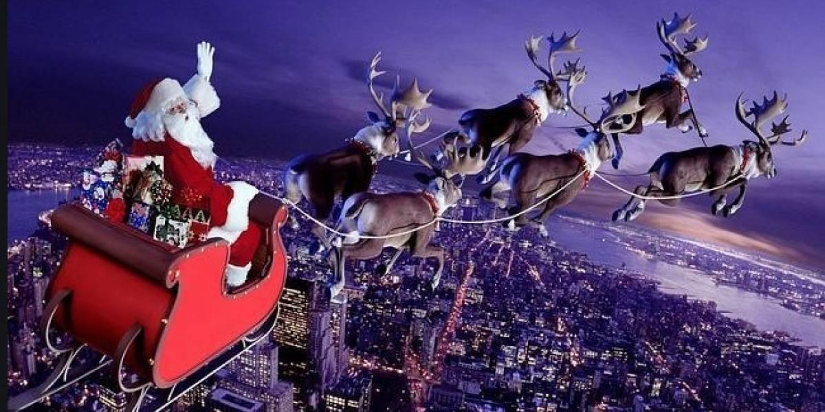 Google Maps: Internauta encuentra el trineo de Papá Noel, mientras navegaba por Internet