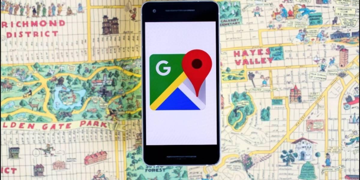Google Maps alertará aglomeraciones y puntos de control de COVID-19