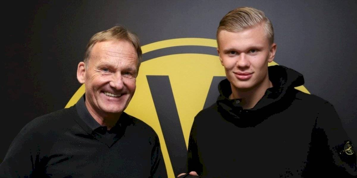 Borussia Dortmund remece el mercado en Europa y se queda con el fichaje de Erling Haaland