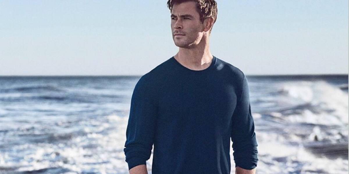 Chris Hemsworth revela sus secretos para mantenerse tan guapo