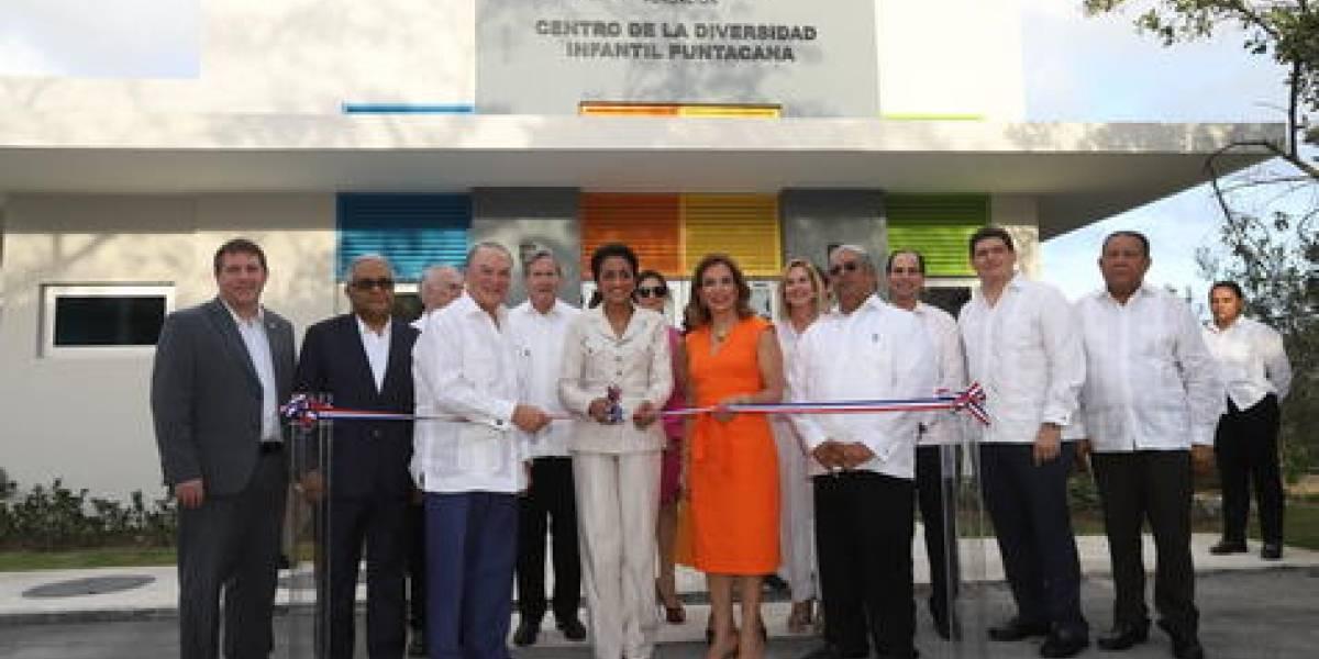 #TeVimosEn: Grupo Puntacana y Despacho de la Primera Dama inauguran primer Centro de la Diversidad Infantil