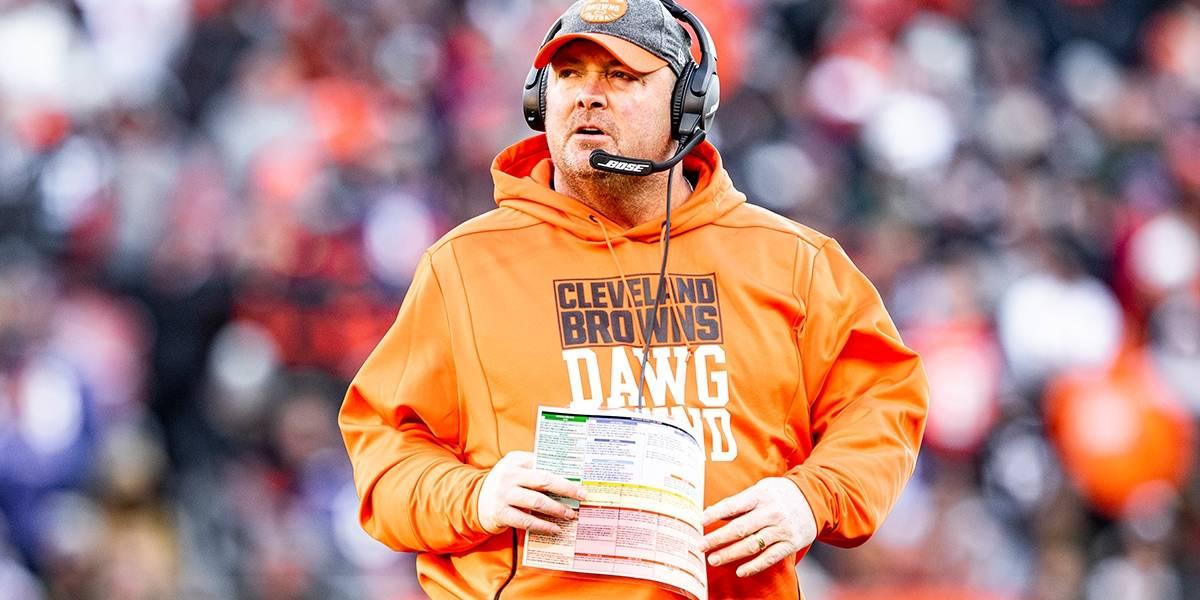 Cleveland Browns despide a su entrenador después de una temporada
