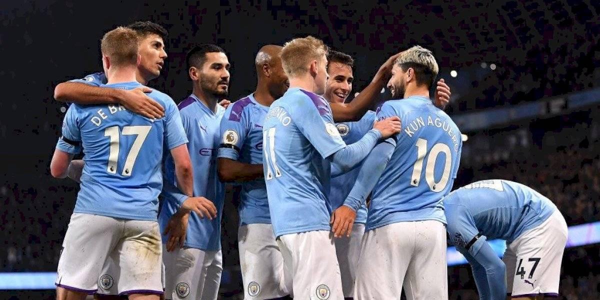 Manchester City regresó al triunfo en la Premier League con Claudio Bravo en la titularidad
