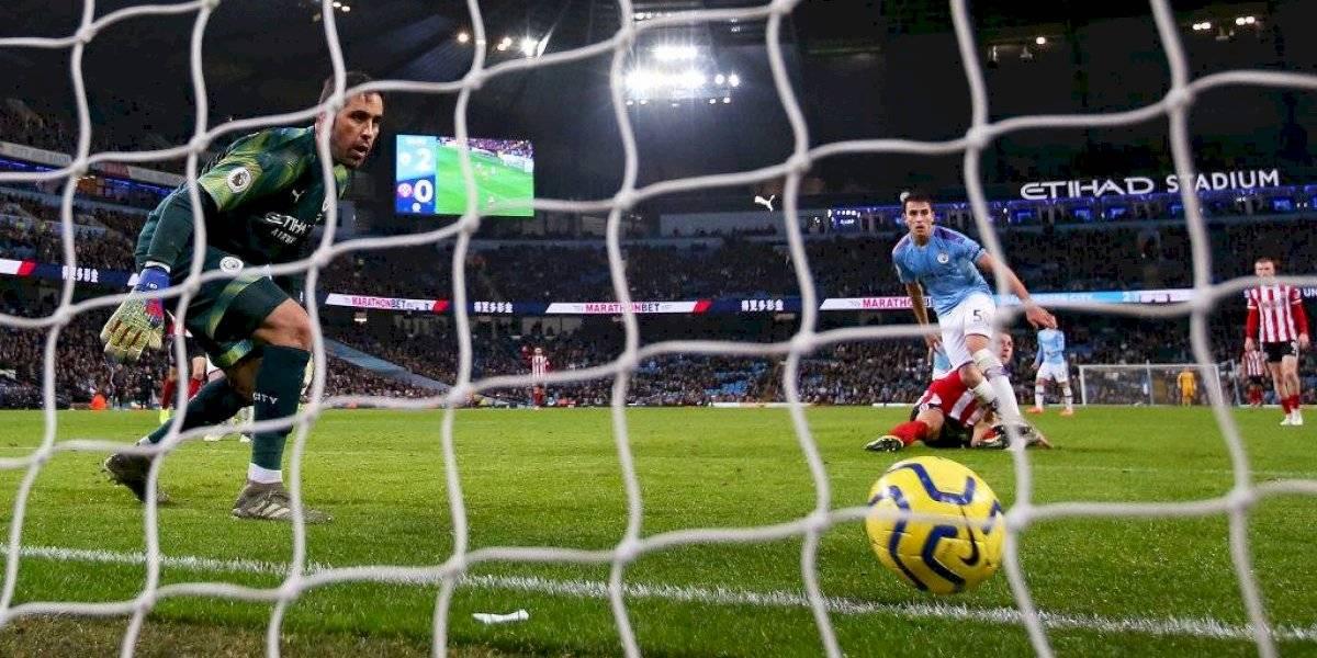 "Pese a la victoria del City, prensa inglesa nuevamente criticó a Claudio Bravo: ""Nunca lució convincente"""