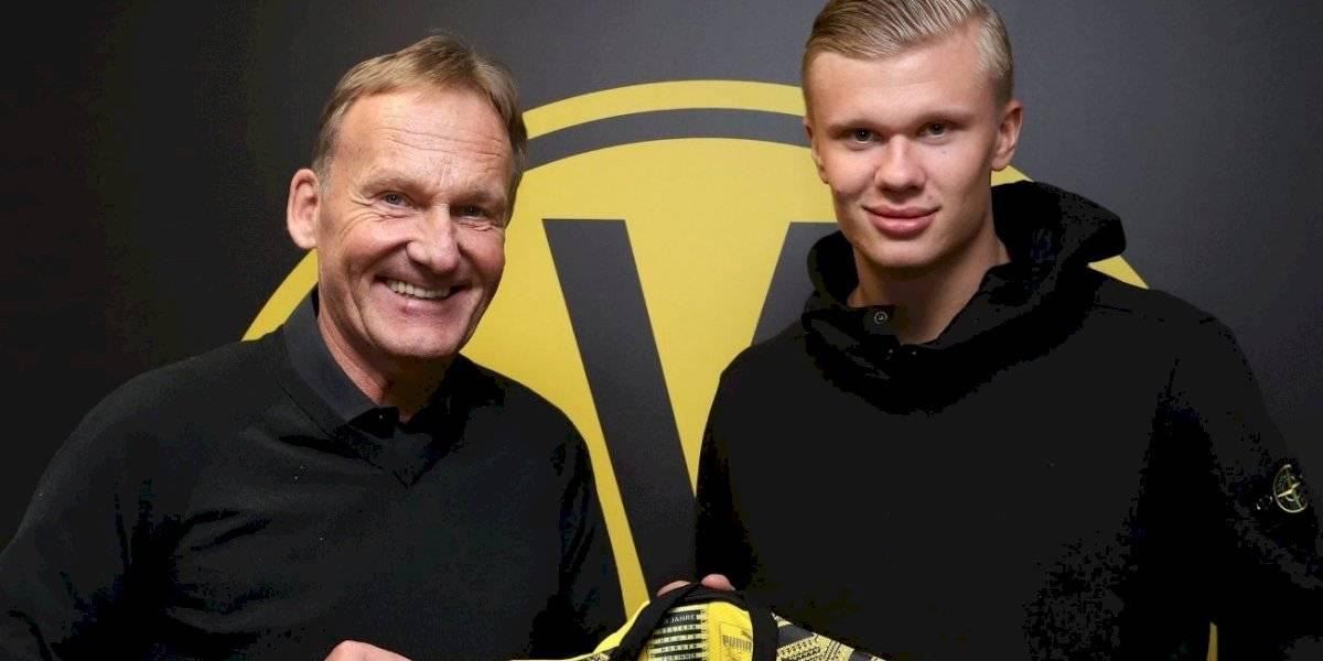 ¡Fichaje bomba! Haaland es nuevo jugador del Borussia Dortmund