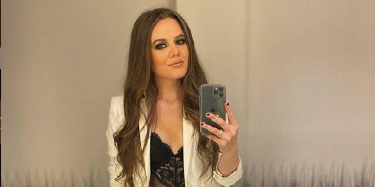 Esposa de Joy Huerta desafía la censura de Instagram y posa desnuda en la ducha
