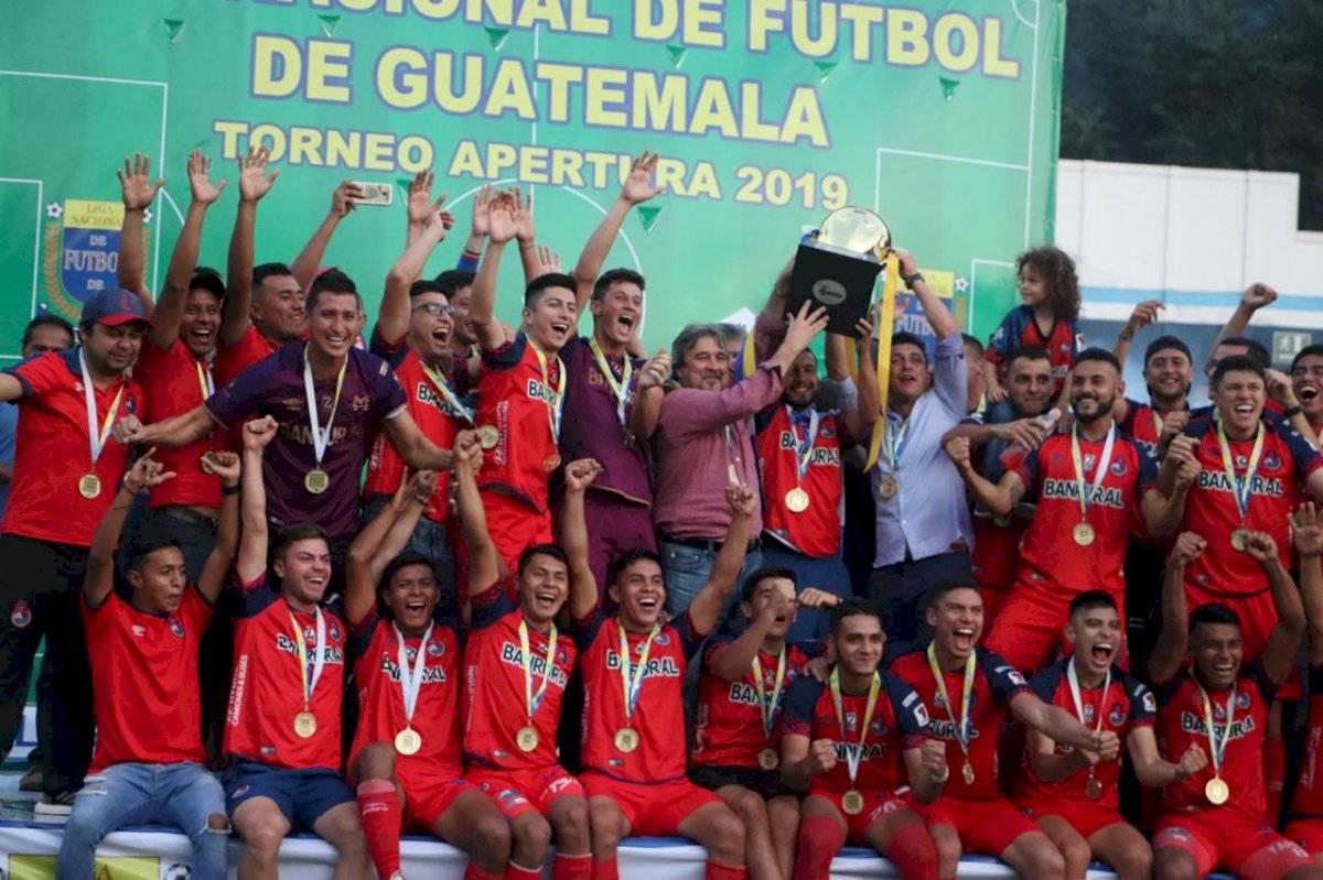 Municipal campeón del Apertura 2019