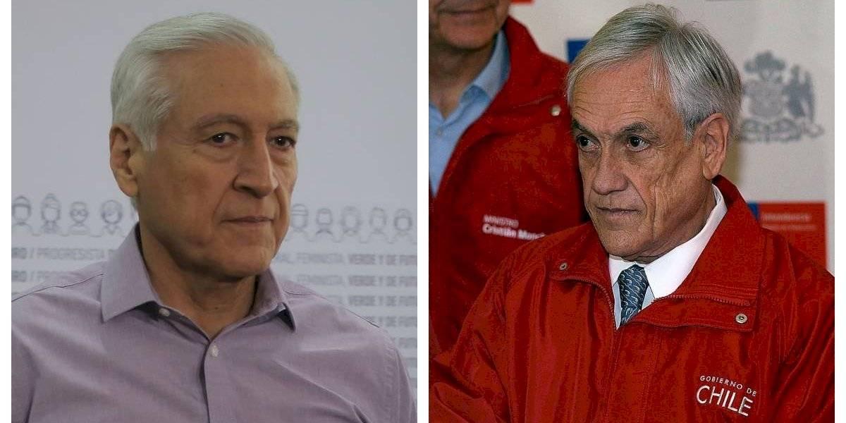 """Heraldo Muñoz critica a Piñera: """"No entiende lo que está pasando en el país"""" y """"su diagnóstico carece de realismo"""""""