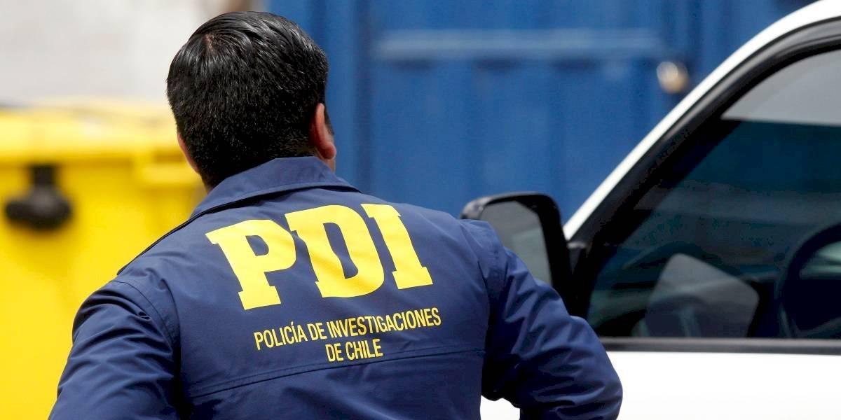 PDI investiga asesinato de un residente peruano en plena Alameda de Santiago centro