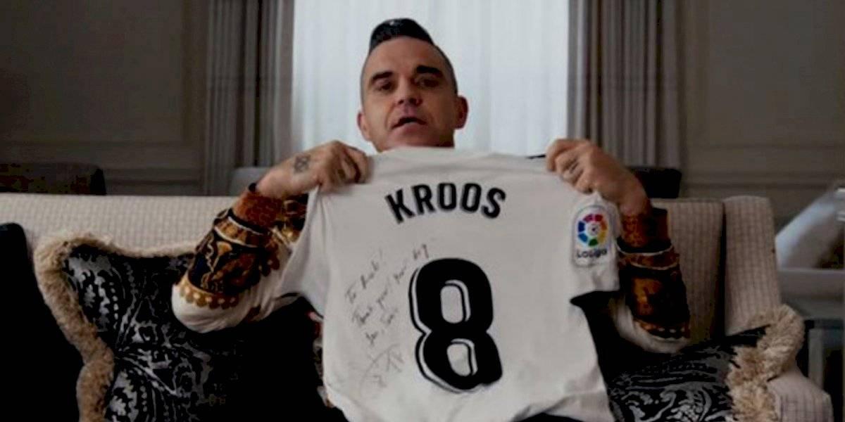 'El Real Madrid me hace sentir como si tuviera un pene pequeño': Robbie Williams