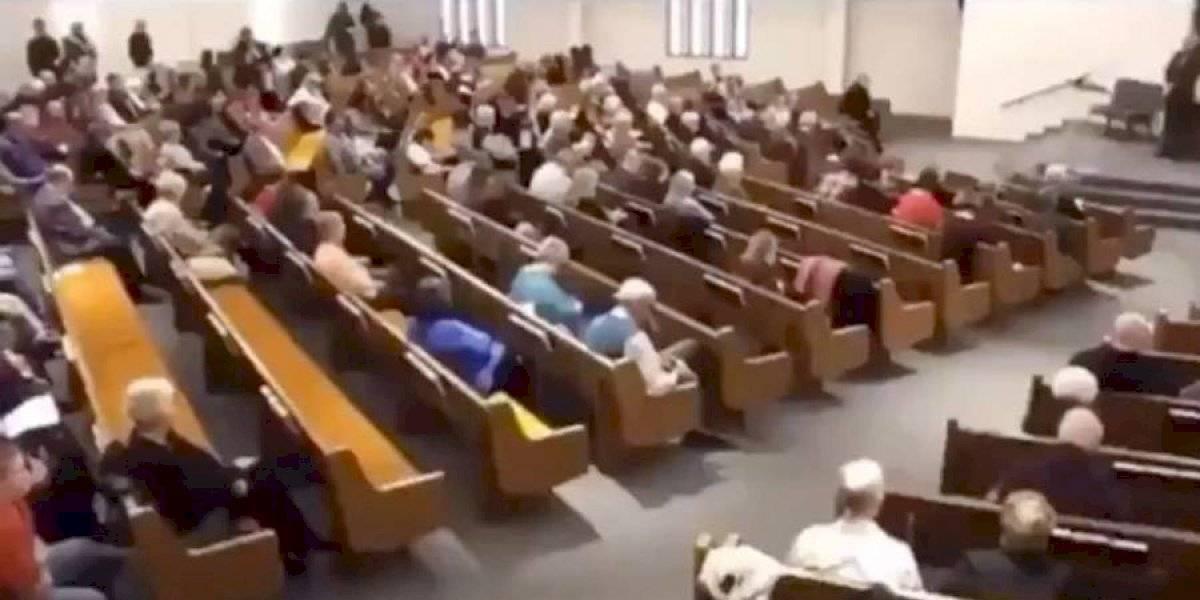 VIDEO. Difunden imágenes del atacante que abrió fuego en una misa en EE. UU.
