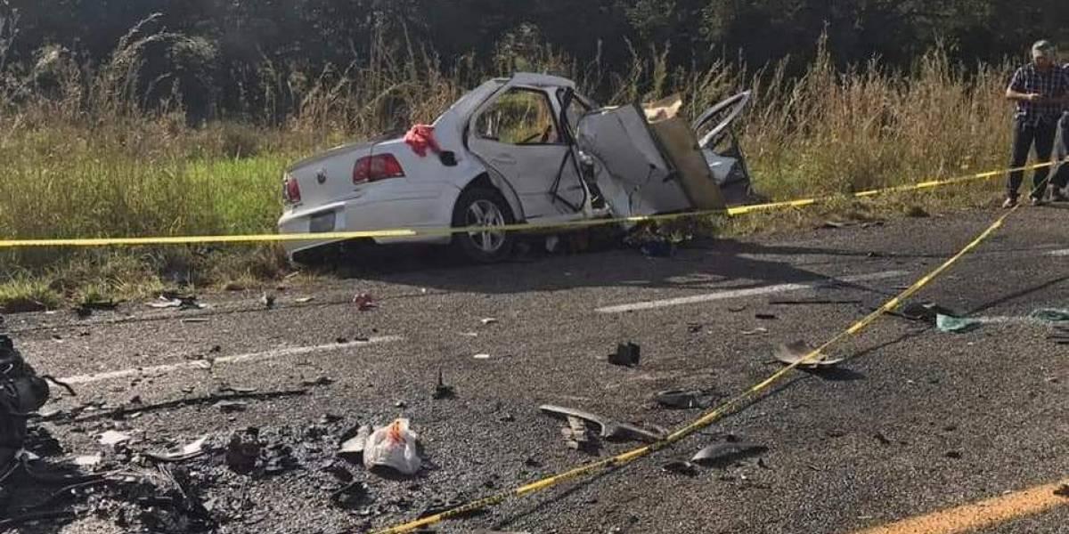 Accidente automovilístico en Chiapas deja 10 muertos