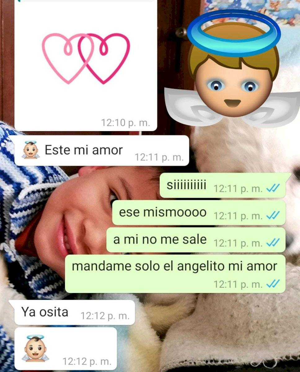 Bebé Angel Emoji