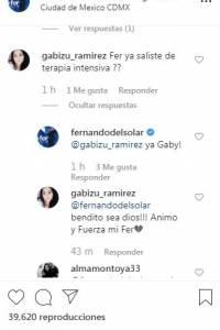 Fernando del Solar contesta preguntas en Instagram