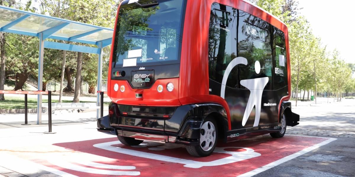 No tiene chofer, 100% eléctrico y es el primero en Latinoamérica: el minibus que debuta en Chile