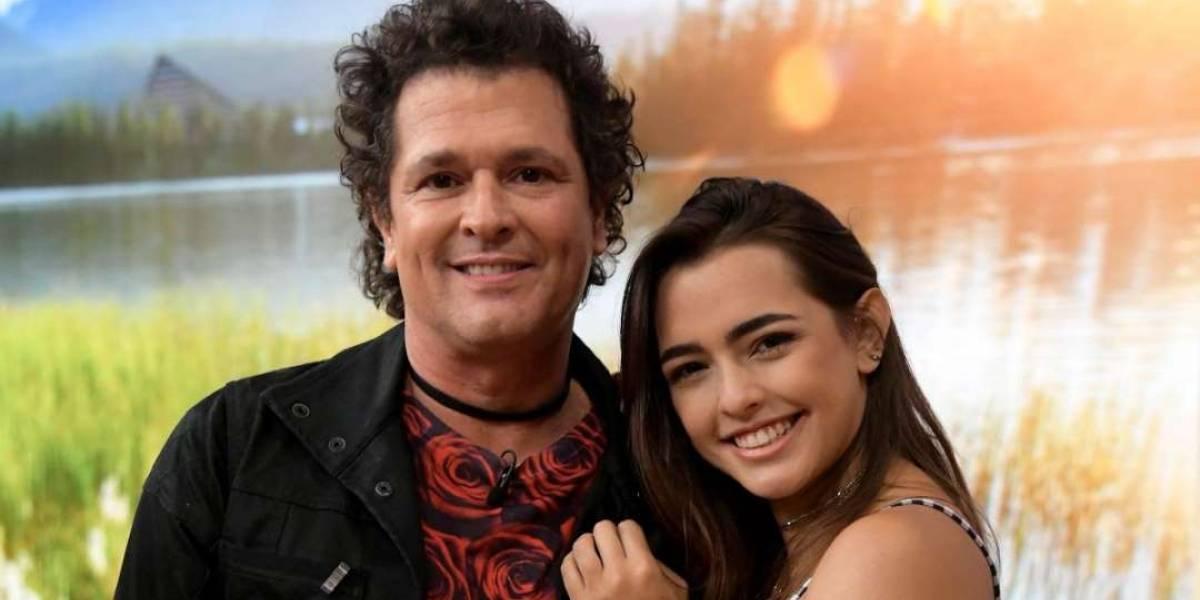 El candente video de la hija de Carlos Vives mientras se pasea por la casa, ¡sin ropa!