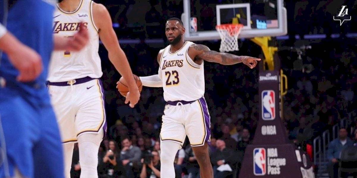 NBA: LeBron James brilló en triunfo de Lakers sobre Mavericks de Luka Doncic