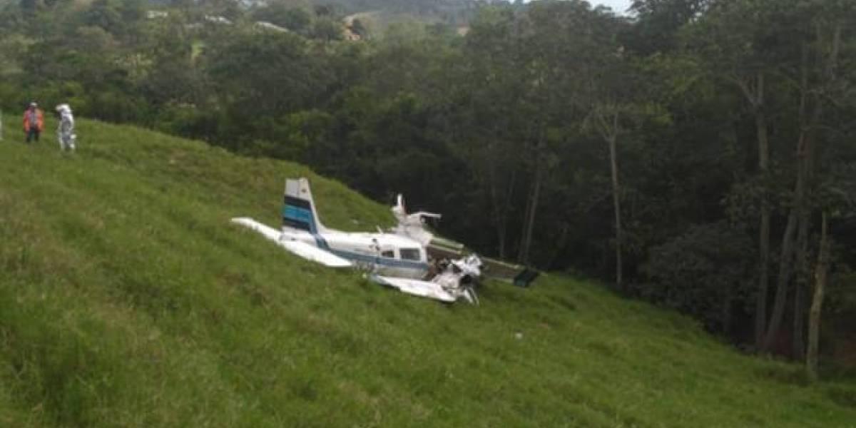 Identifican a los fallecidos en accidente de avioneta en Santander.