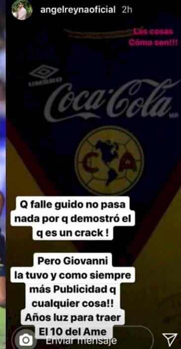 Mensaje Ángel Reyna
