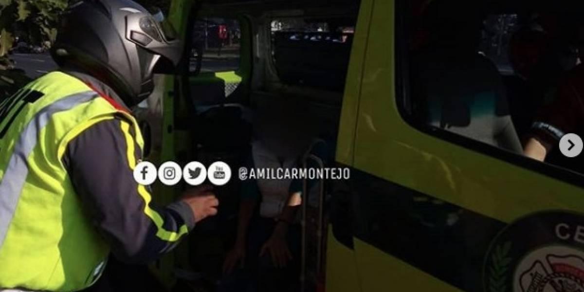 Mujer se lanza de bus que era asaltado en bulevar Liberación