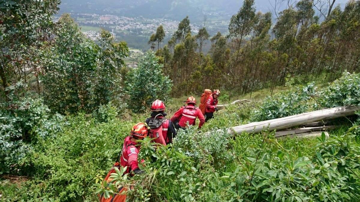 Parapentista sufrió accidente en el cerro Auqui
