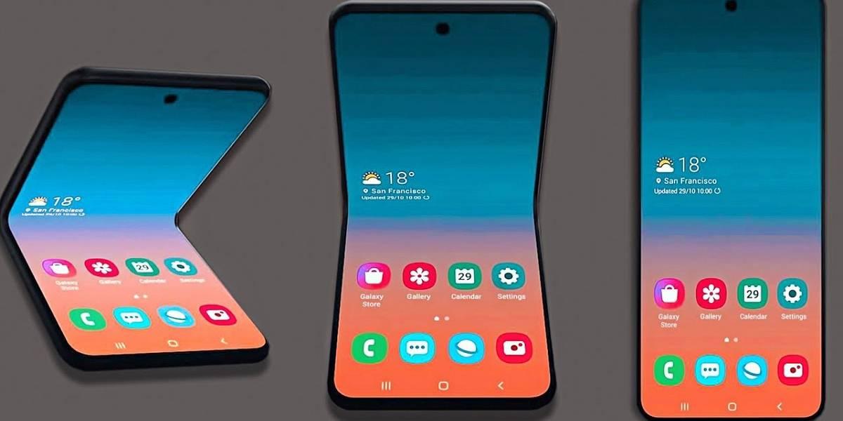 El nombre real del Galaxy Bloom de Samsung sería Galaxy Z Flip