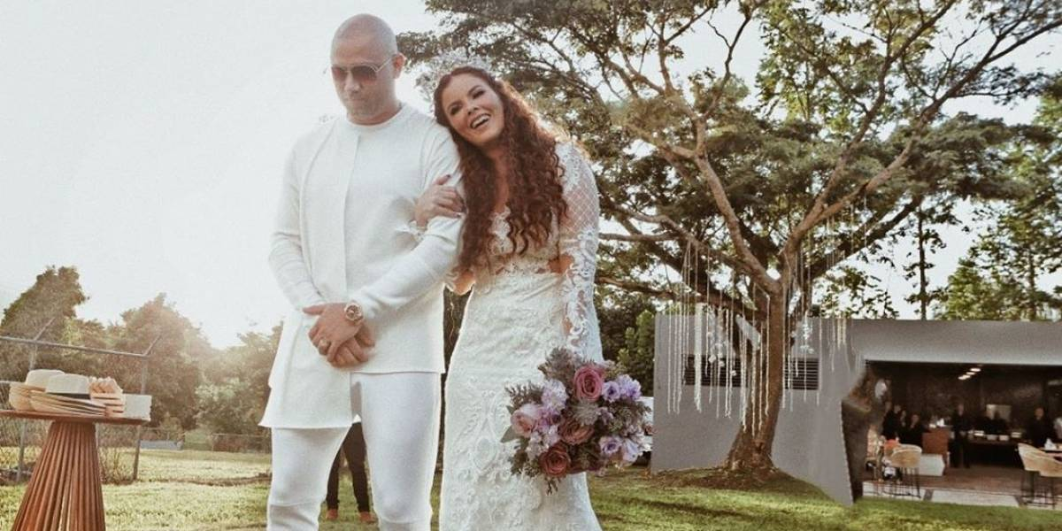 Wisin renueva sus votos matrimoniales y Yandel es su padrino de boda