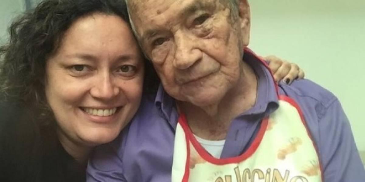 Luto en la familia de Angélica Lozano: su abuelo murió esta madrugada