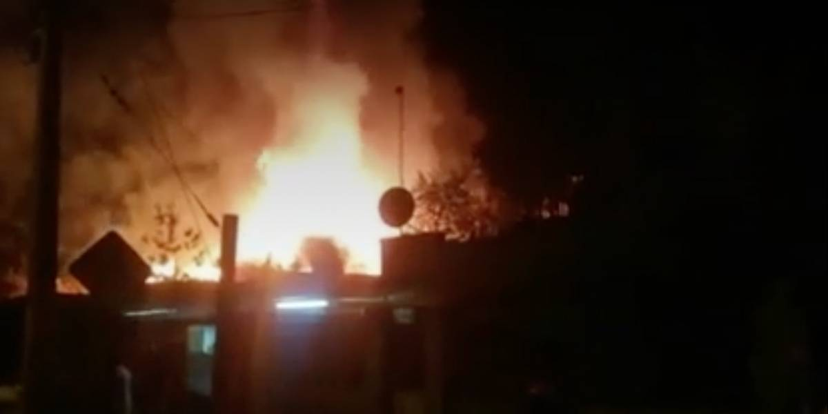 Tres menores y dos adultos fallecen tras incendio en La Granja